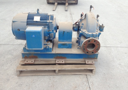 Pump with motor - PLAD, 75 HP